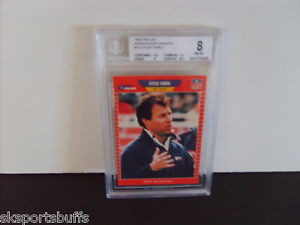 STEVE SABOL BECKETT GRADED HIGH 1989 PRO SET NFL FILMS