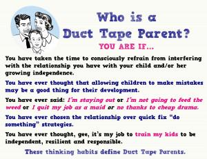 Parenting Quotes Duct-tape-parent-defined