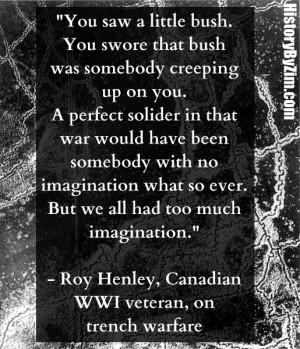 In Their Words: Roy Henley (WWI Veteran)