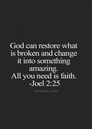... Quotes, Scriptures Quotes, Faith Hope, Joel 2 25, Bible Quotes, Quotes