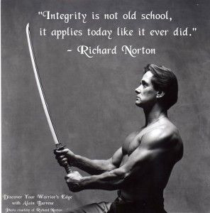 ... quotes   Integrity and Character Development in the Martial Arts