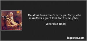 Quotes by Venerable Bede