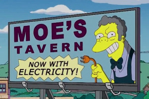 Home of the Flaming Moe!