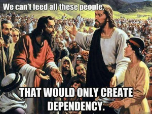 In the conservative Christian Bible it worked differently...