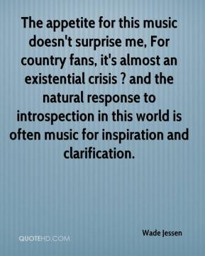 The appetite for this music doesn't surprise me, For country fans, it ...