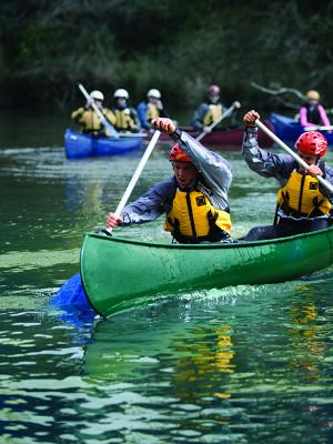 Outdoor Recreation Canoeing...