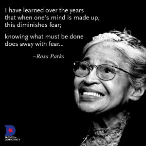 Rosa Parks Quotes On Racism