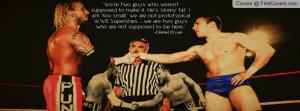 Re: CM Punk & Daniel Bryan - The Friendship, Journey and Ending