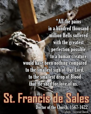 More Quotes from St. Francis de Sales