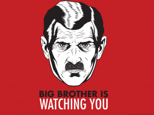 ... George Orwell Big Brother wallpaper (books, quotes, wallpapers
