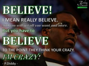 Inspirational Quotes From The Top Musicians #10 – Diddy