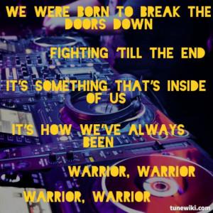 ... always been warrior warrior warrior warrior # kesha # lyrics # warrior