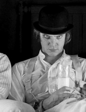 Clockwork Orange Stanley Kubrick Malcolm McDowell Alex DeLarge