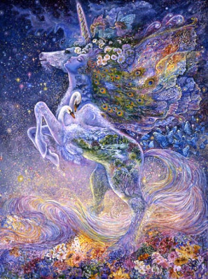 The Soul of a Unicorn by Josephine Wall