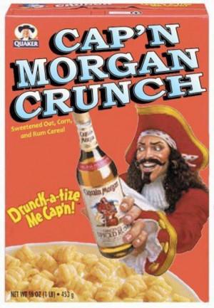 captain morgan cereal
