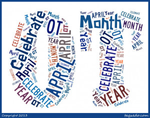 Love Occupational Therapy Logo On the first day of ot month,