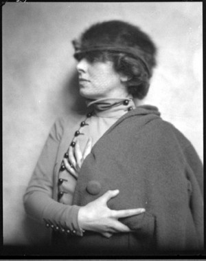 Margaret Anderson the founder and editor of The Little Review which