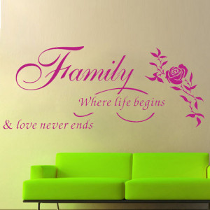 ColorfulHall-Family-Where-Life-Begins-Loves-Never-Ends-Wall-quotes ...