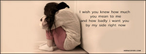 Wish You Loved Me Quotes I wish you knew how much you