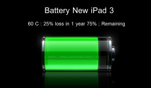Battery with Positive and Negative