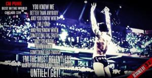 CM Punk Quotes