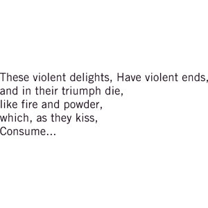 Romeo and Juliet quote