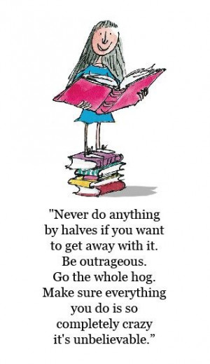 Matilda by Roald Dahl Quotes
