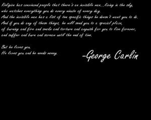 Quotes Atheism Wallpaper 1280x1024 Quotes, Atheism, George, Carlin