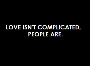 complicated, love, people