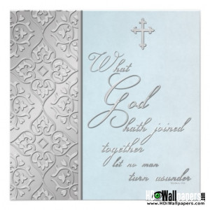 Love Quotes From The Bible For Wedding Invitations Card 4