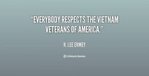 "Everybody respects the Vietnam Veterans of America."""