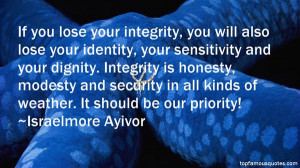 Top Quotes About Integrity And Honesty