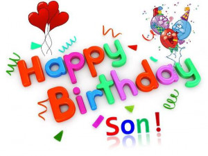 happy birthday son from mom happy birthday son from mom happy birthday ...
