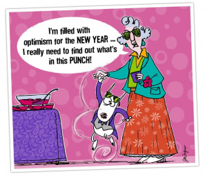 These are the maxine quotes funny about new year according Pictures