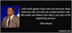 stand against those who see terrorism when Americans die, but who see ...