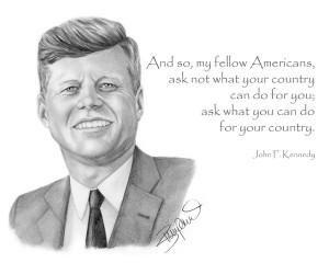 John F Kennedy by Wendy Zumpano