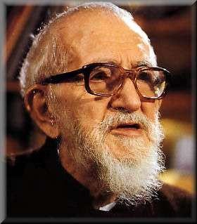 Abbé Pierre, born Henri Marie Joseph Grouès