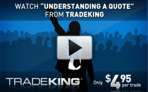 Beginner's Guide to Stock Quotes on TradeKing