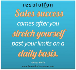 Sales #success comes after you stretch yourself past your limits on a ...
