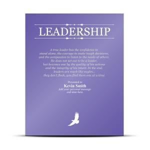 Leadership Award Plaque