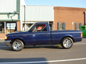 My 94 has 98 Explorer rearend & slappers, no problems either: