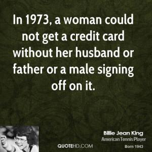 Billie Jean King Husband Quotes