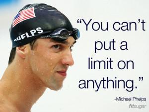 Michael Phelps Athletic Quotes