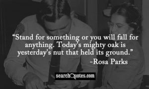Rosa Parks Quotes & Sayings