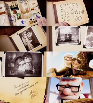 adventure, carl, disney, ellie, love, movie