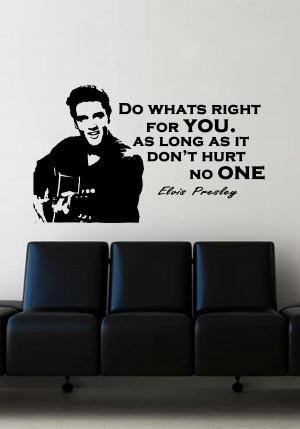 Elvis-Quote-Wall-Art-Sticker-Music-Vinyl-Mural-WA570