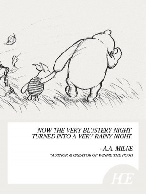 Quote of the Day: A.A. Milne