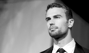 Theo James at the Divergent Premiere (3/18/14)