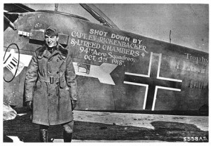 Eddie Rickenbacker received the Medal of Honor for his flying exploits ...