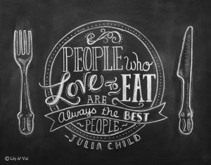 ... Quotes About Love: People Who Love Eat Are Sexy In Dark Black Theme